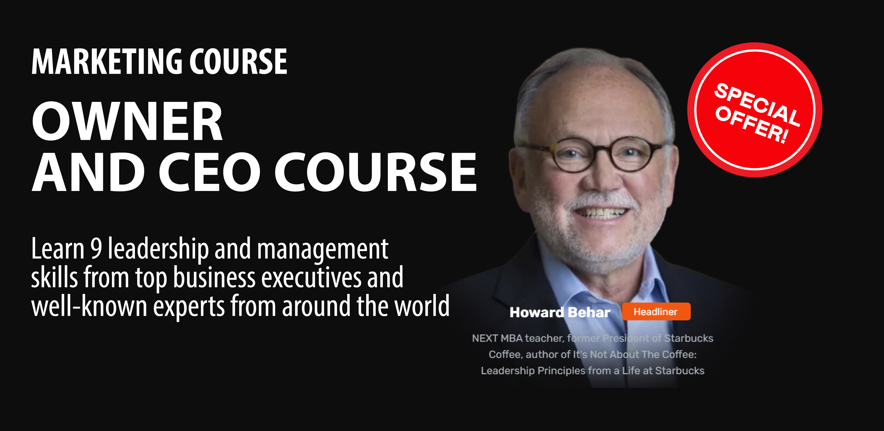 OWNER AND CEO COURSE